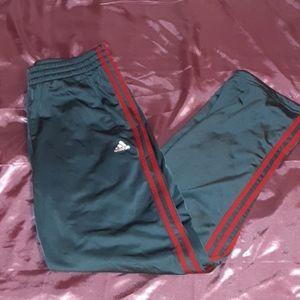 Men's 3 stripe performance track pants